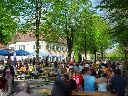Die Fasanerie Biergarten In 80997 Munchen Alle Biergarten In Bayern Biergartenfreunde
