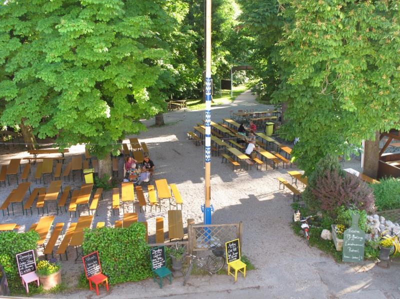Hotel Gasthof Zur Post Herrsching Biergarten In 82211 Herrsching