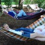 Milchhäusl im Englischen Garten München - Bioimbiss Biergarten Häusl