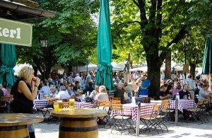 Biergarten Viktualienmarkt München